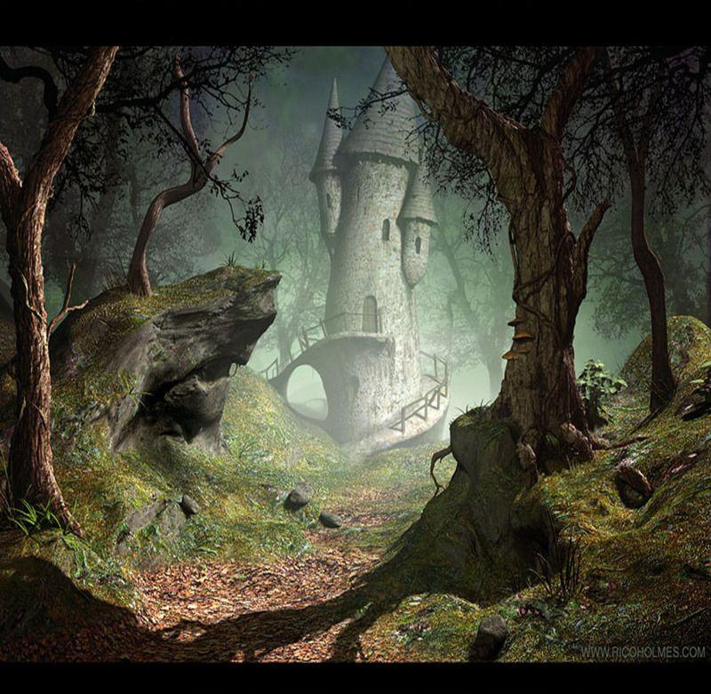 Royaume f rique mondes f riques tim e paysage - Dessin feerique ...