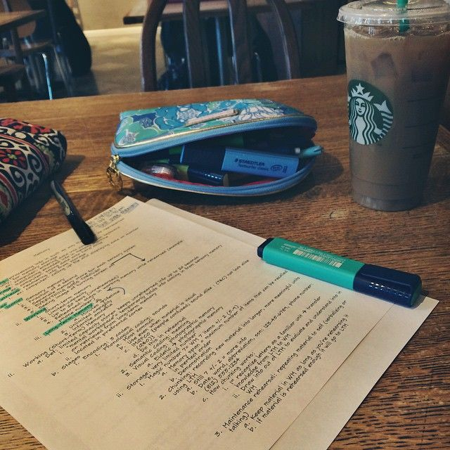 "hoosierstateofprep: ""Did I really study if I didn't get Starbucks or take a picture? #finals #studyblr """