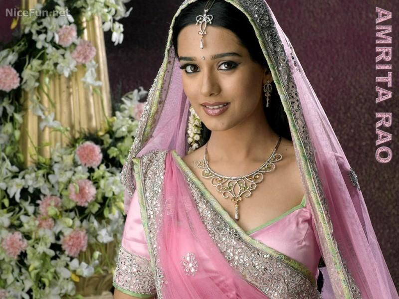 """Amrita Rao in """"Vivah - A Journey From Engagement To Marriage."""" 2006."""
