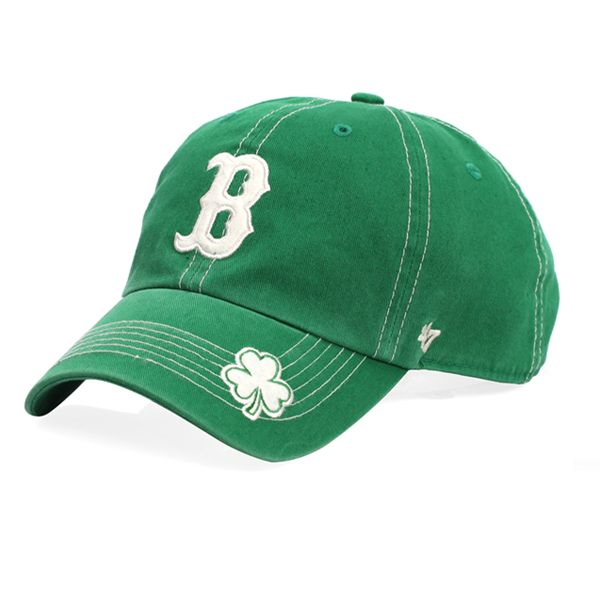 The Paper Store '47 Brand Boston Red Sox St. Patty's Fatty Cap #thepaperstore #green #redsox