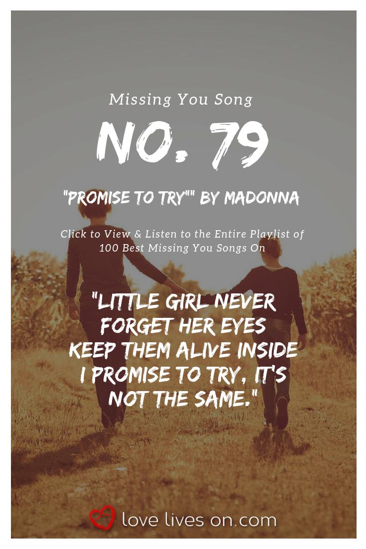 missing her songs