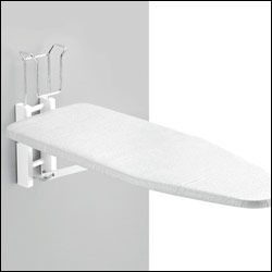Folding Ironing Board Wall Mount Wall Mounted Ironing Board Spare Room Design Furniture