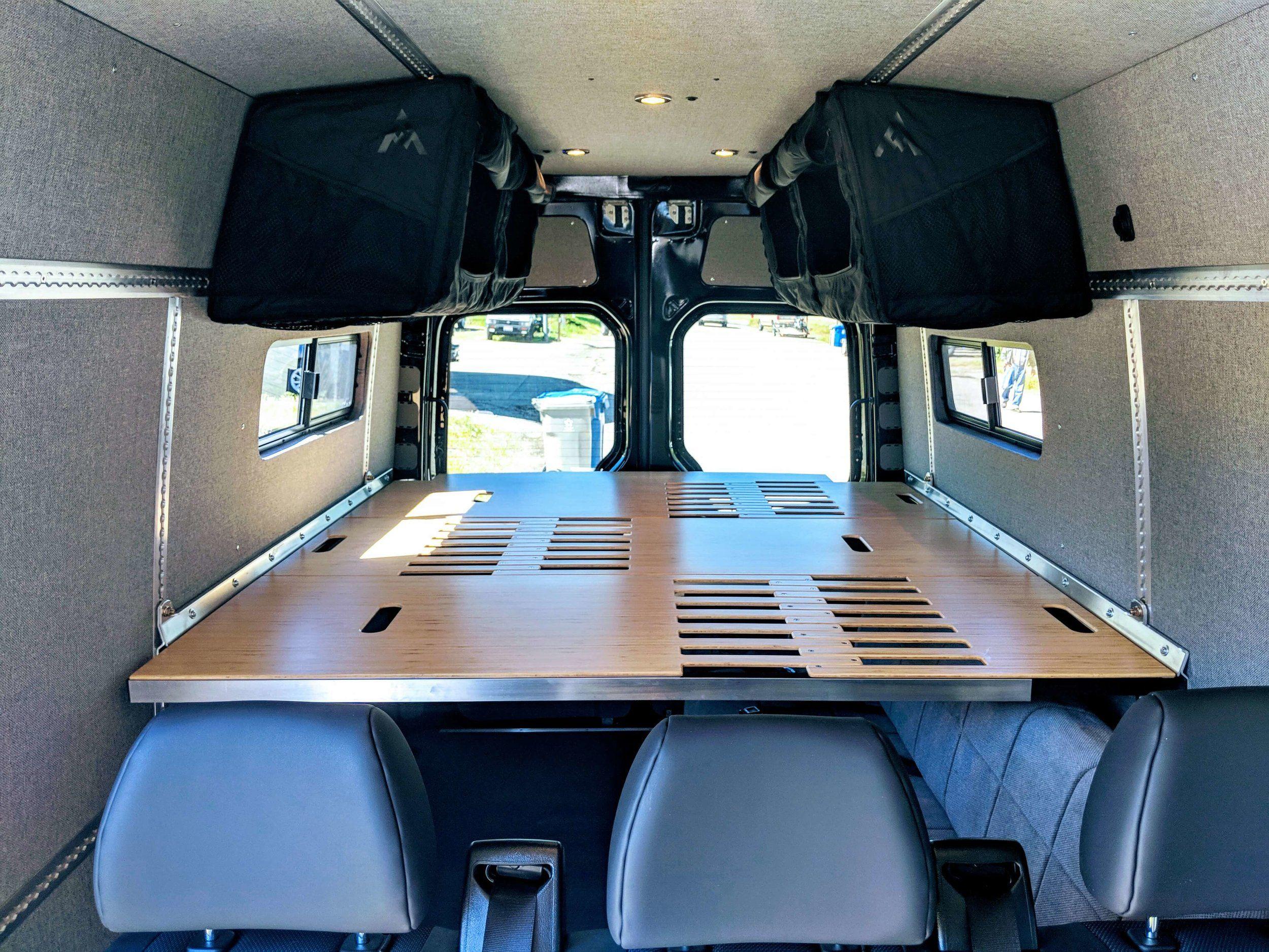 Adventure Wagon Ruv Kit Installation Delta Custom Up Fitting For Sprinter Vans Sprinter Van Sprinter Camper Van