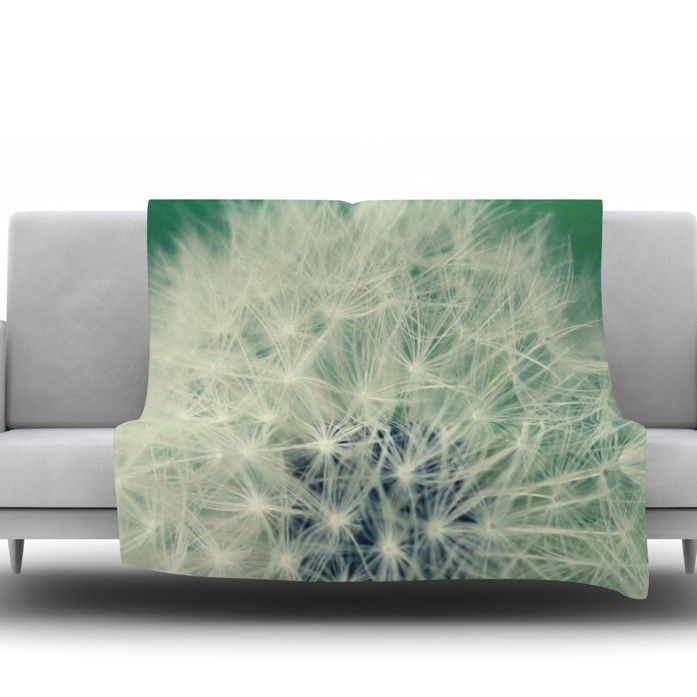Fuzzy Wishes by Angie Turner Fleece Throw Blanket