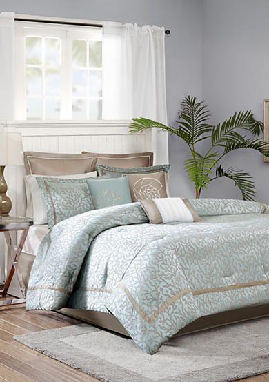 Madison Park Outer Banks 9 Piece Comforter Set Comforter Sets Home Home Decor