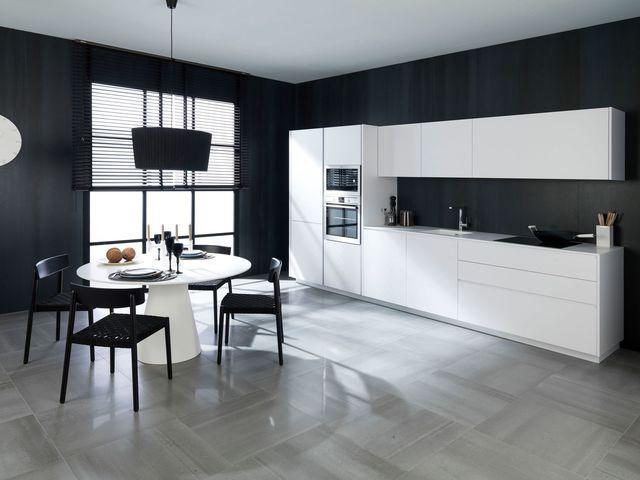Cuisine en longueur aménagement  12 modèles en photos Interiors