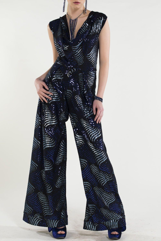 #PrintInfusion #RelaxedChic #FrenchRiviera NICO DIDONNA Style : 107 – Eva Jumpsuit  £260..