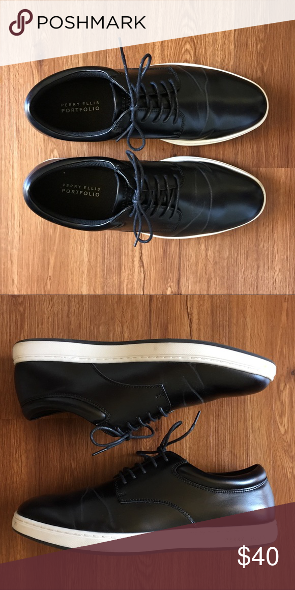 8e92a053a8 Perry Ellis Dress Shoes Worn only once for a wedding. Perry Ellis Shoes  Sneakers