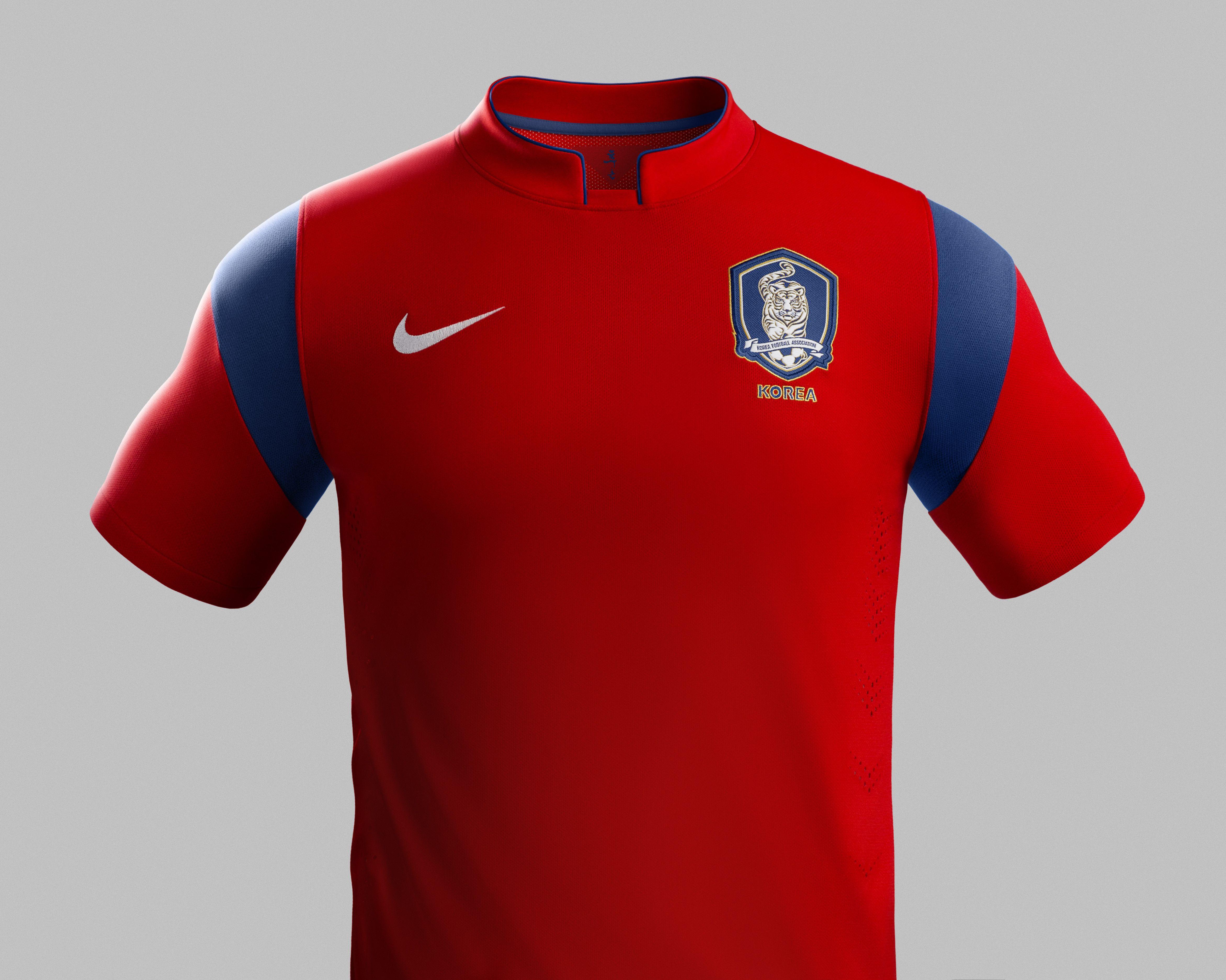 South Korea Home Kit for World Cup 2014  worldcup  brazil2014  korea   soccer  football  KOR 8d05c9d3d