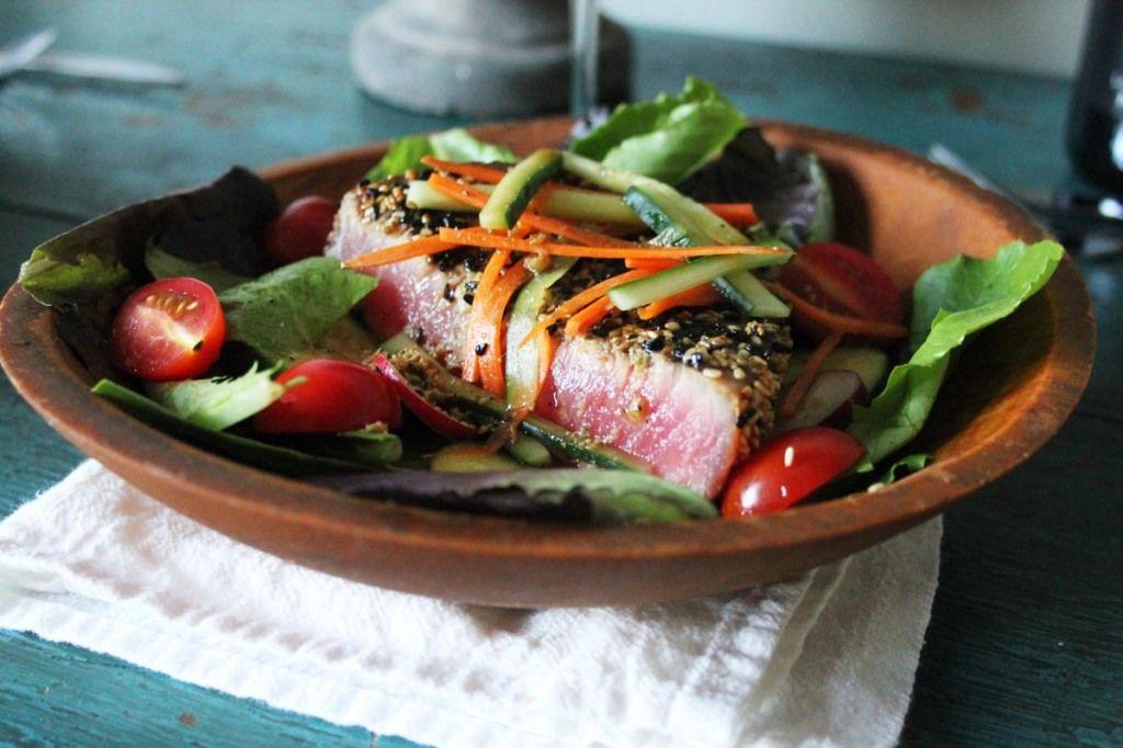 recipe: tuna steak salad dressing [27]