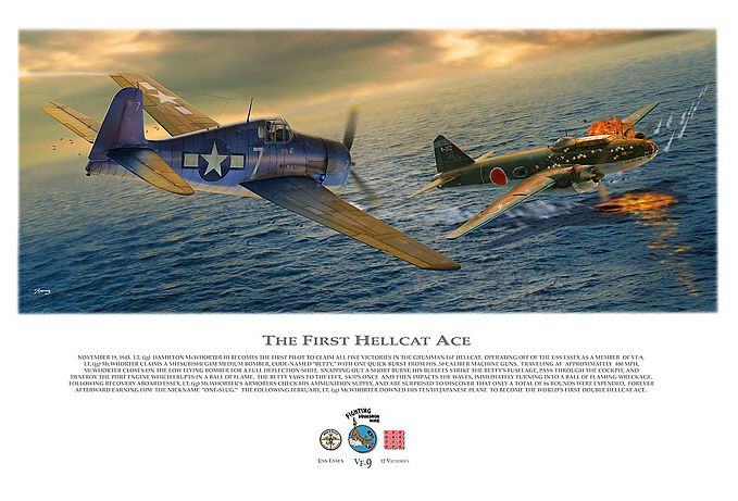 Dan Zoernig's First Hellcat Ace