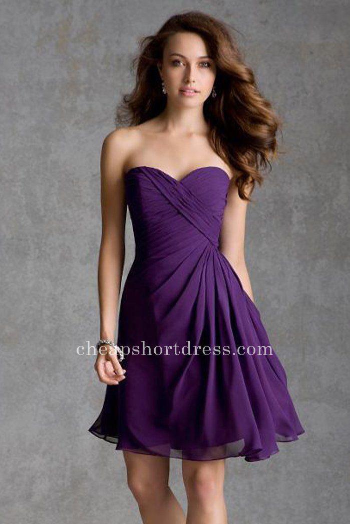 Eggplant Mori Lee 31032 Short Strapless Homecoming Dresses ...