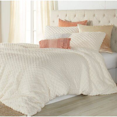 New Hartford Diamond Sherpa Comforter Set | Joss & Main