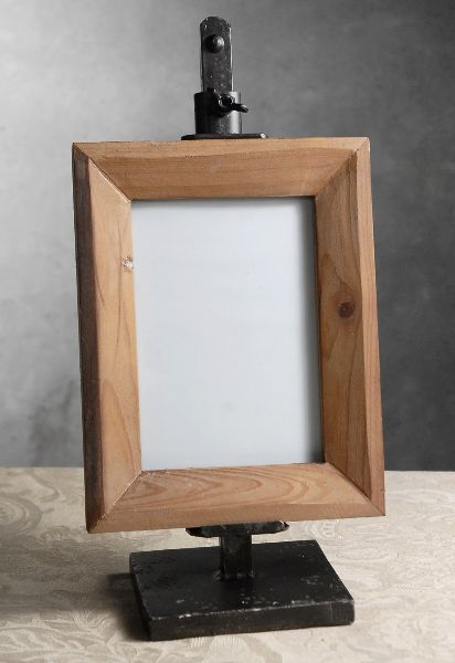 Metal Easel with Wood Frame 14.5 in. Adjustable $22. Do with the ...