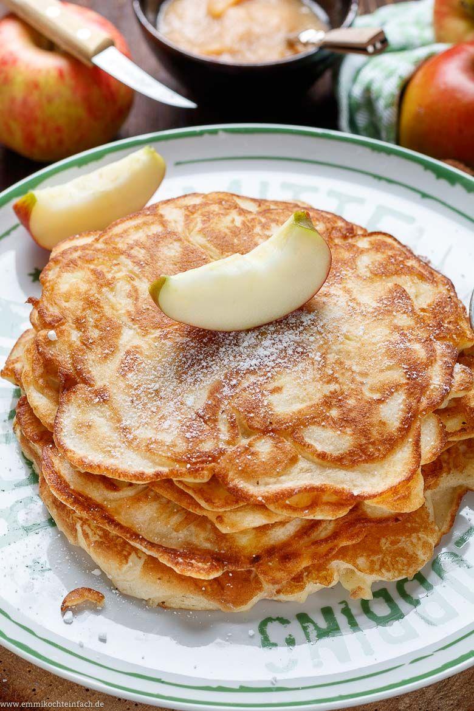Apfelpfannkuchen klassisch und fluffig #desserts