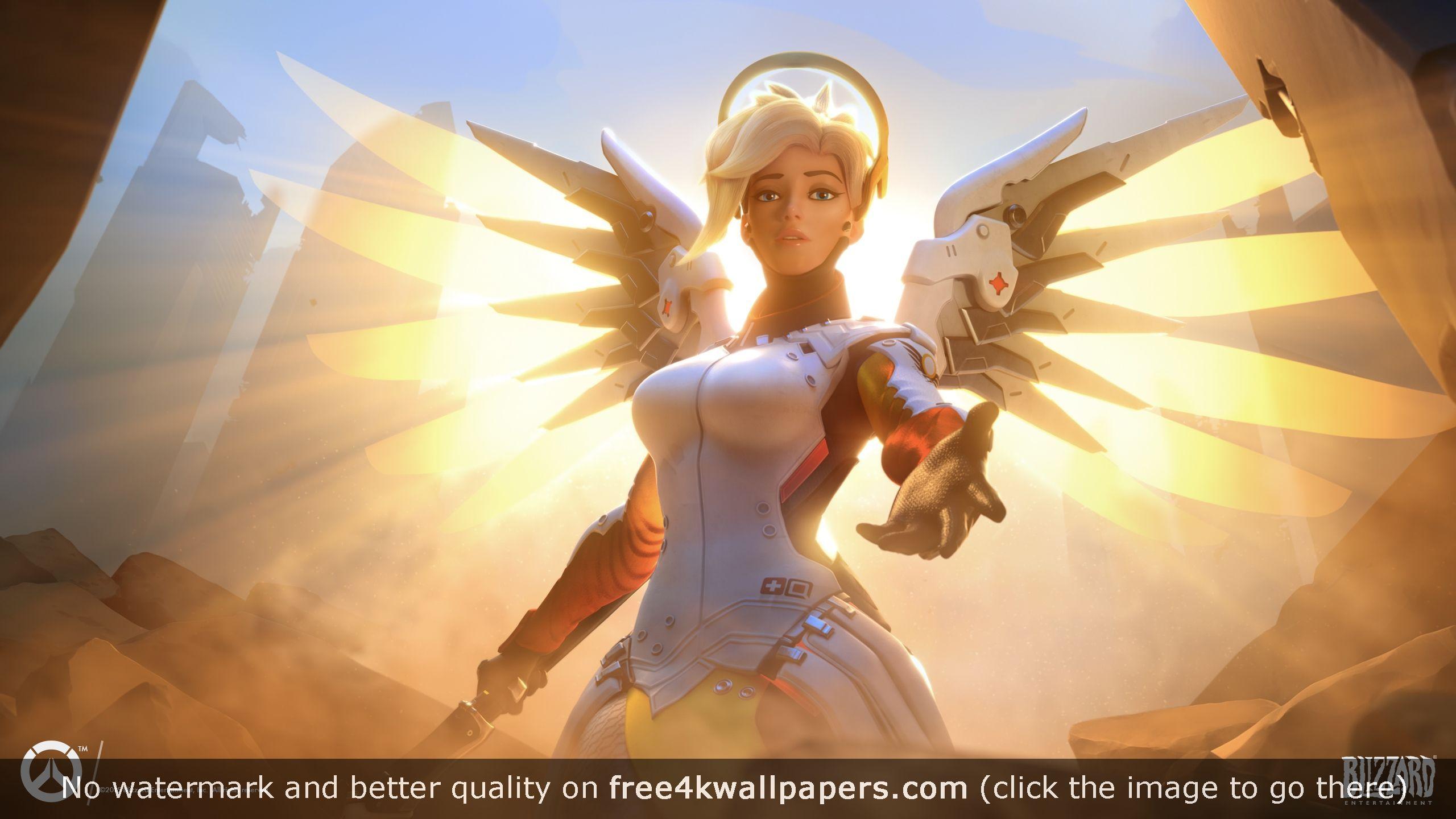 Mercy Overwatch Hd Wallpaper Mercy Overwatch Overwatch Wallpapers Overwatch