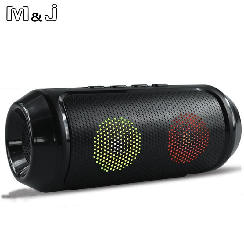 M J Multimedia Mini Bluetooth Speaker With Stereo Fm Aux Wireless Bluetooth Super Bass With Mic Boombox Loud Mini Bluetooth Speaker Bluetooth Speaker Bluetooth