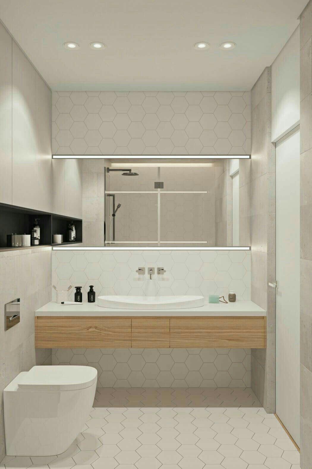 Bathroom Minimalistic Soft Aesthetic