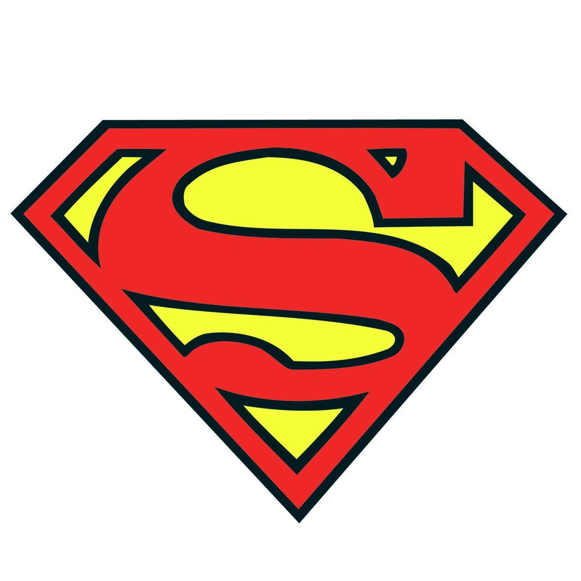 superman logo vintage