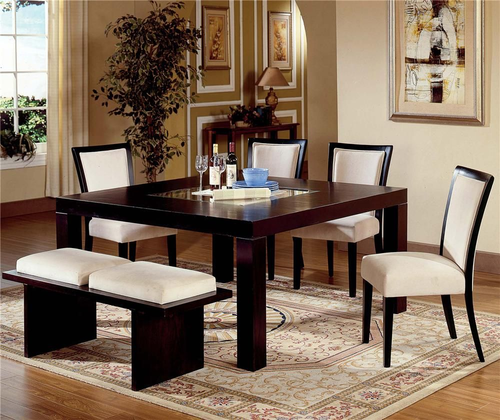 Casual Dining Table Decor: Movado 6 Piece Dining Table Set By Steve Silver
