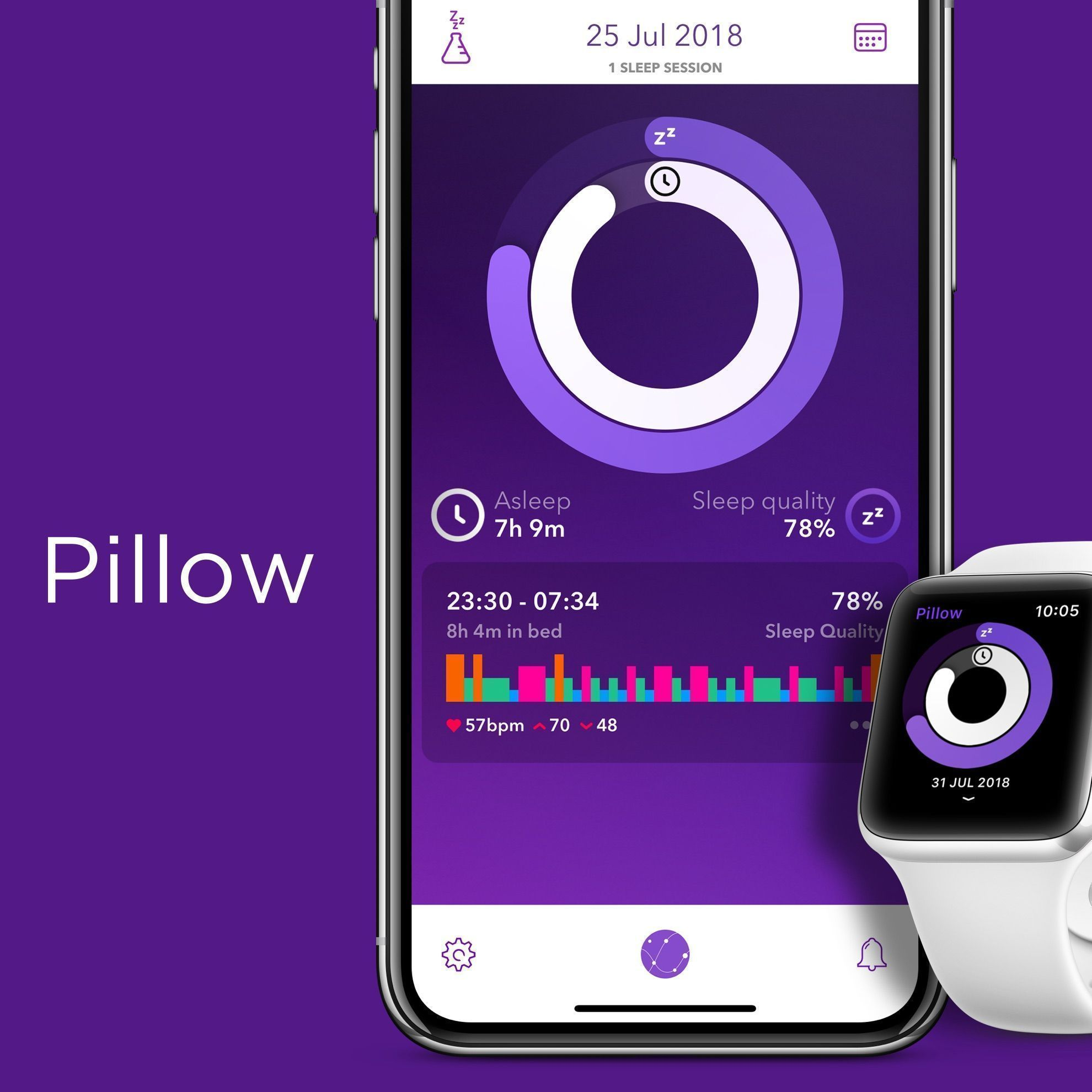 Pillow can now track your sleep automatically. Just wear