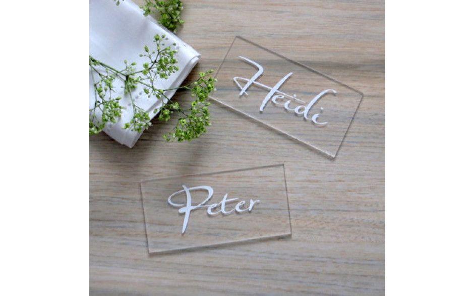 Acryl Tischkarte Trend Kartencrew De Tischkarten Karten Danke Geschenk