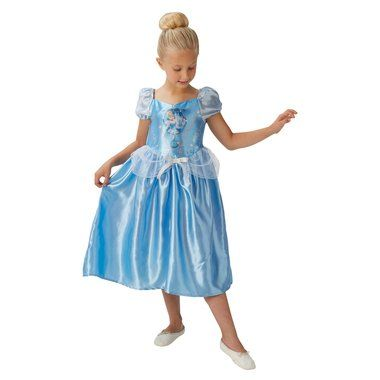 Disney Cinderella Princess Blue Dress Child Costume XS S M NWT