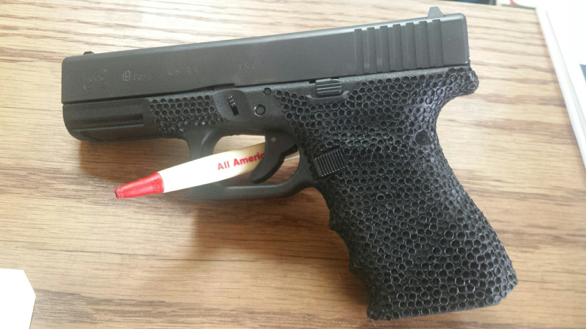 Glock stippling