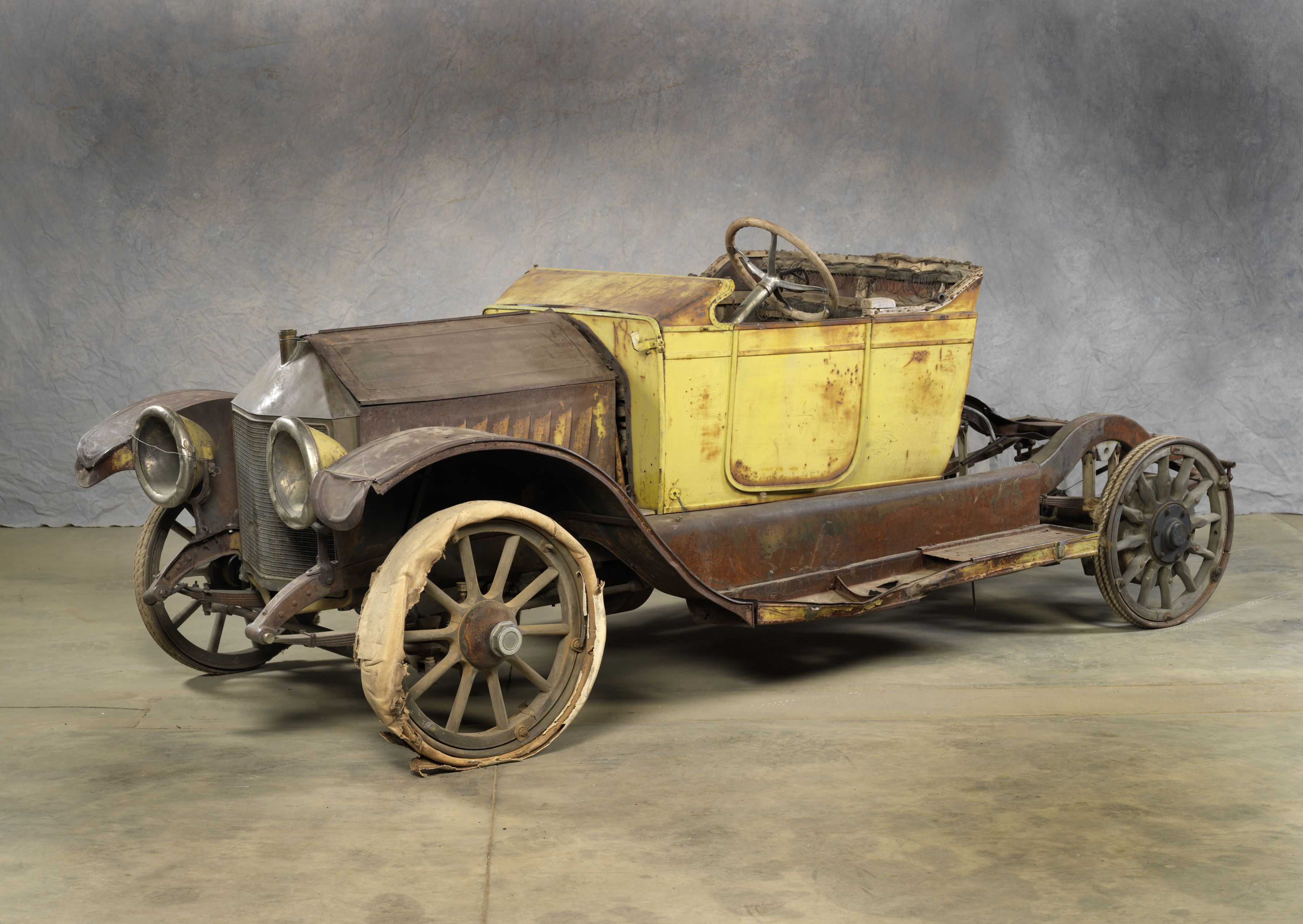1913 Chevrolet Classic Six Type C Touring Car This Car Has Serial