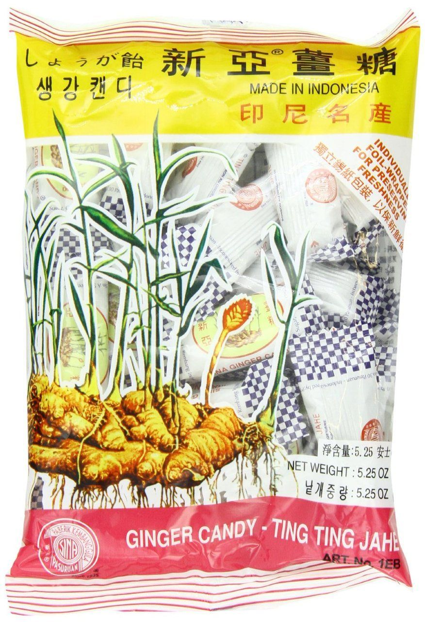 Asian ginger candy