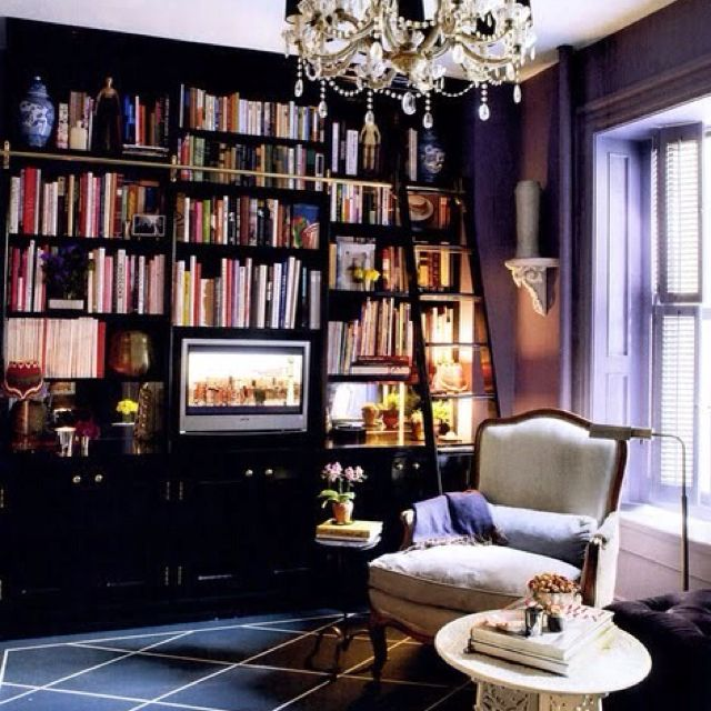 I will make it a priority to have a library in my house