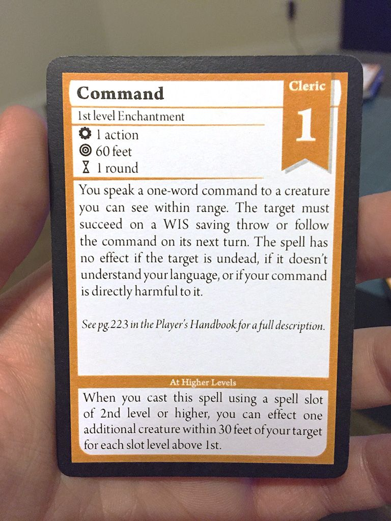 I M Making 5th Edition D D Spell Cards Album On Imgur Dnd Spell Cards Dungeons And Dragons Homebrew D D