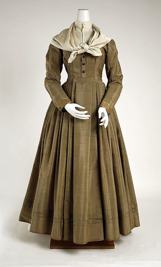 Ensemble American The Metropolitan Museum Of Art Historical Fashion 19th Century Fashion Victorian Fashion