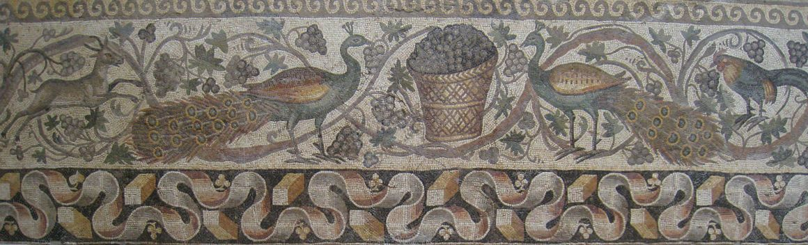 One of the Antioch mosaics located at the Antakya Archaeological Museum