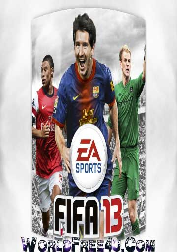 Cover Of FIFA 13 Full Latest Version PC Game Free Download