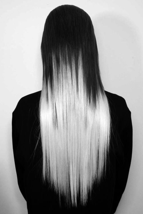 Farewell letter from ombre barn doors and silver ombre hair for Hair color letters