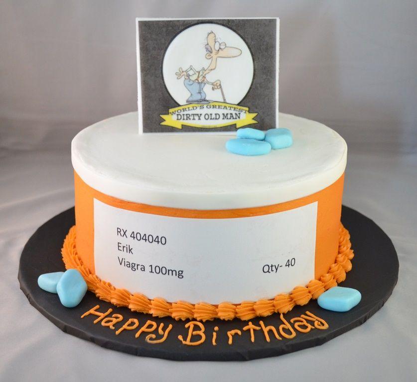 Dirty Old Man Cake ideas Pinterest Cake Fondant cakes and