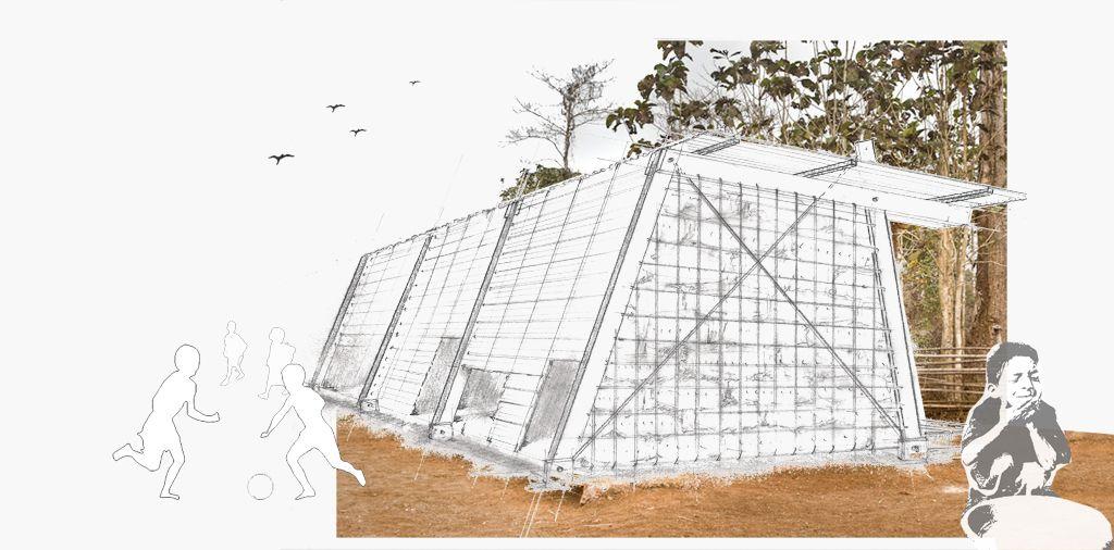Ganador h ctor de lama kit house escuela universitaria de Arquitectura politecnica