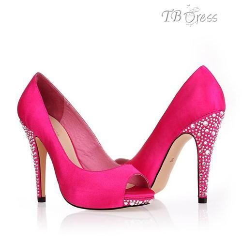 72 Cute Pink Wedding Shoes Ideas
