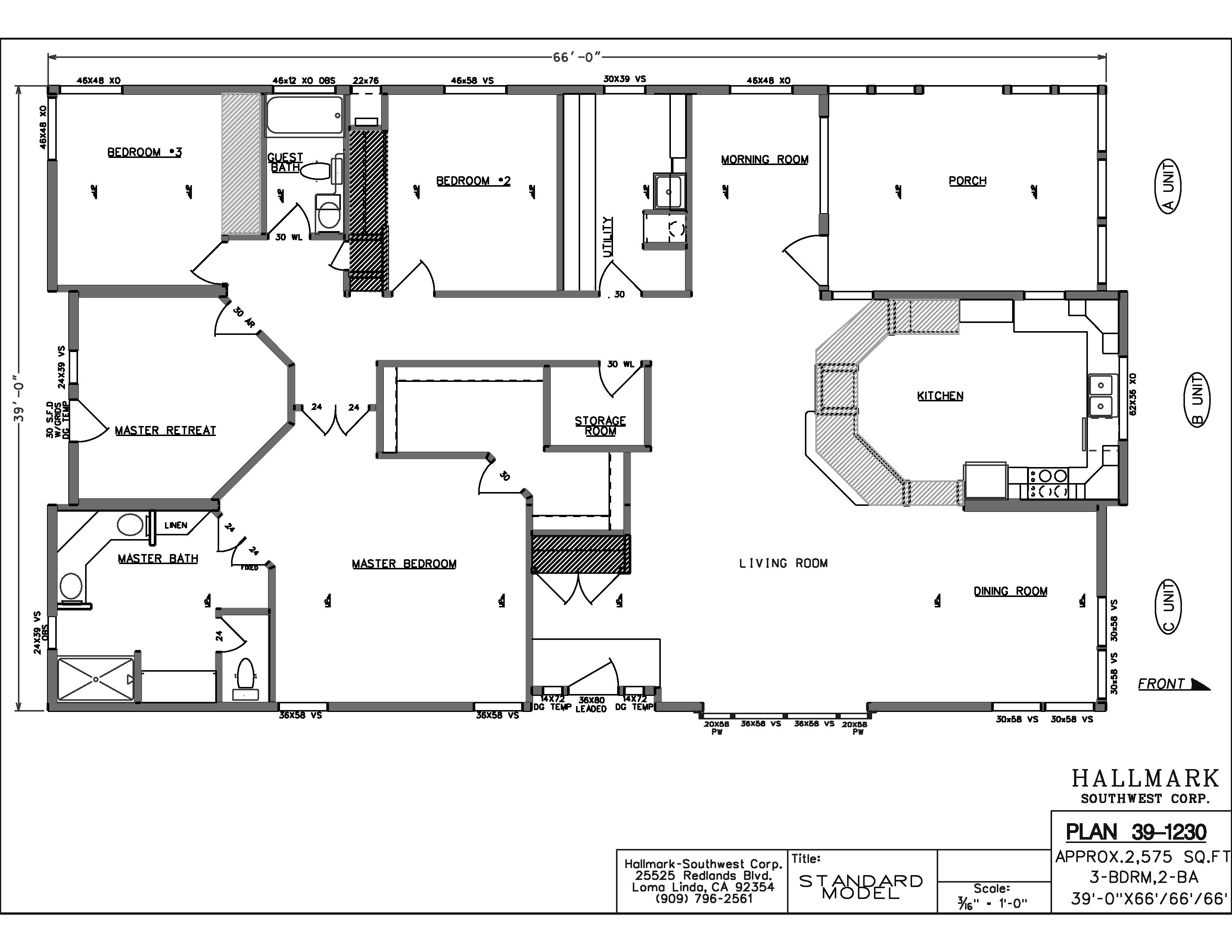 Champion Mobile Home Floor Plans Popular Floorplans Mobile