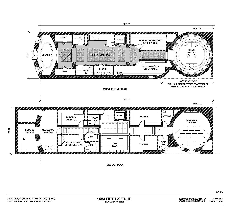 1083 fifth avenue penthouse apartment floor plan