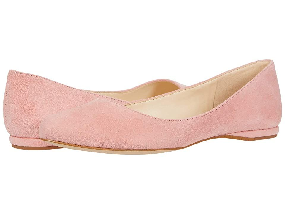 Nine West SpeakUp Flat - Women's Dress Flat Shoes : Medium Pink : The Nine West SpeakUp Flat will be a staple in your classic wardrobe with an almond toe and easy slip-on styling. Available in a variety of upper materials. Breathable man-made lining. Lightly cushioned man-made footbed provides added comfort. Durable man-made outsole. Imported. Measurements: Weight: 5 oz Product measurements were taken using size 8, width M. Please note that measurements may vary by size. Weight of footwear is ba