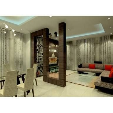 Partition Design For Living Room And Dining Hall క స