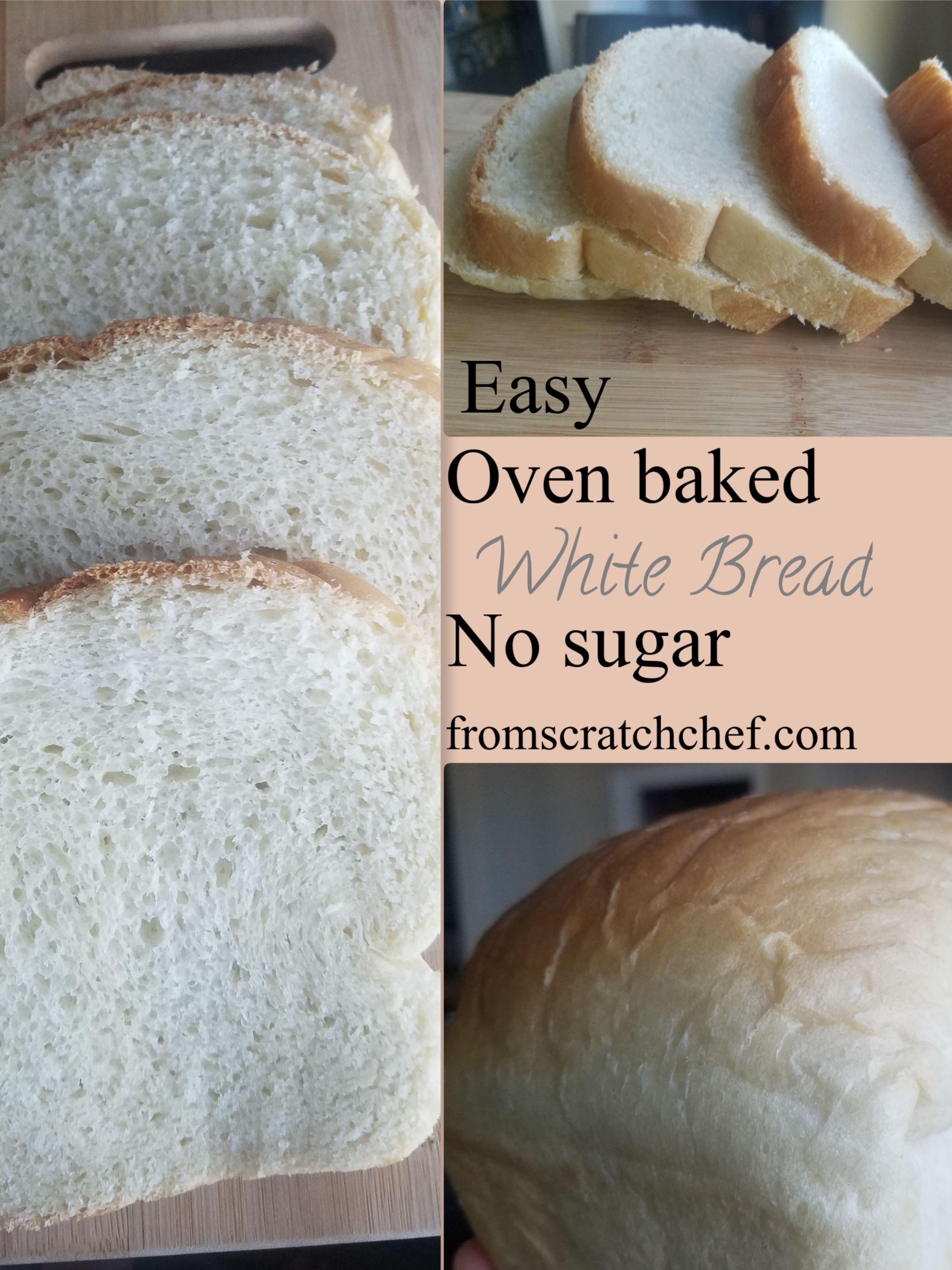 White bread | Recipe | Bread, Bread without sugar