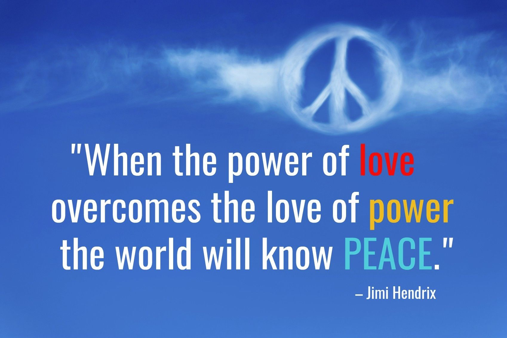 Quote Of The Week When The Power Of Love Overcomes The Love Of