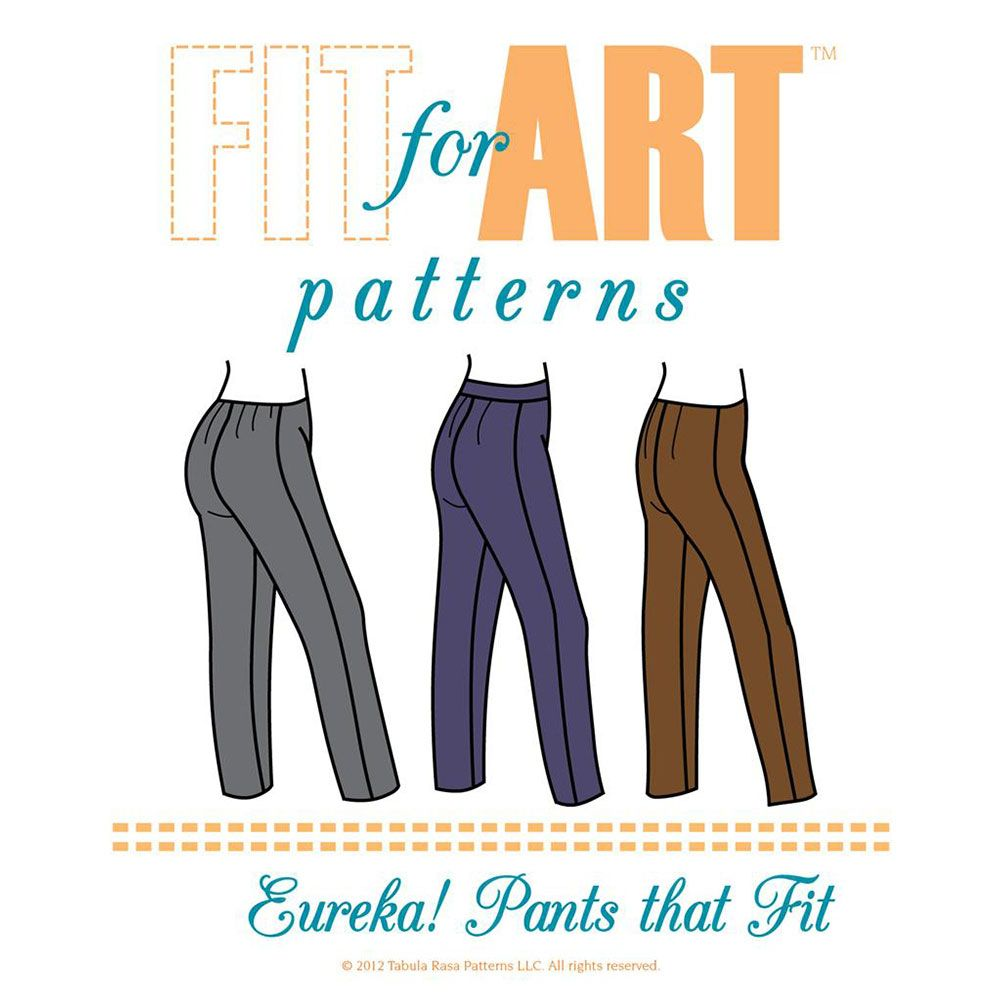 Eureka pants that fit pdf sewingpatterns pinterest flats
