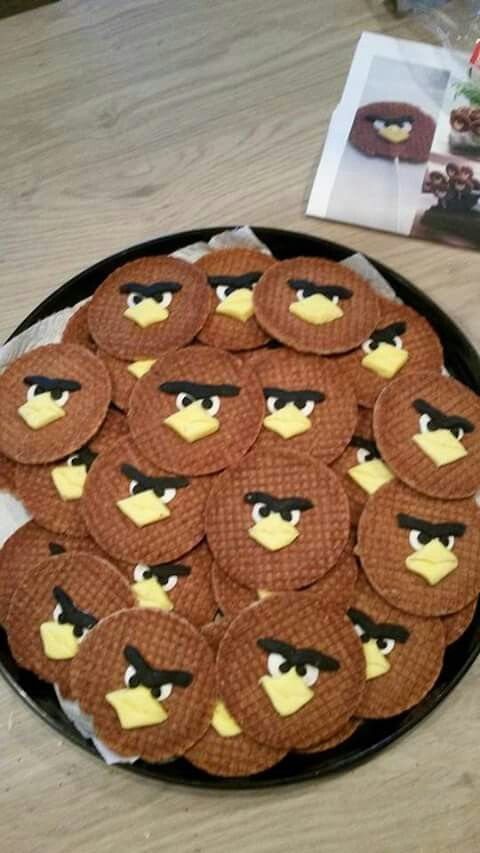 Angry stroopwafels