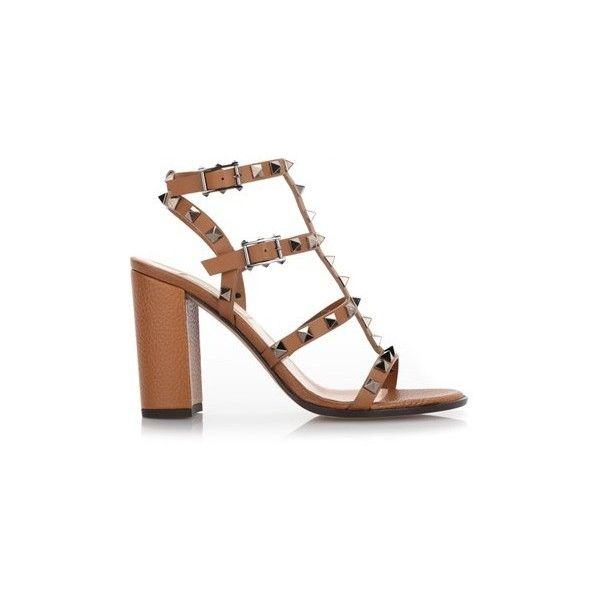 Chunky heels sandals, Studded shoes
