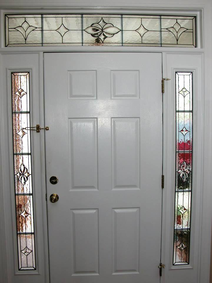 Cessena Grids Design Transom Home Decor Artsy Beautiful Custom Made Creative Elegant Window Stained Gl