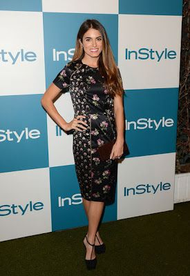 Nikki Reed in Jill Stuart - InStyle Summer Soiree